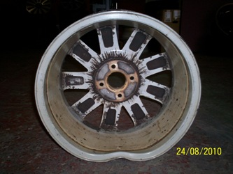 AlloyFIX: Buckled alloy wheel