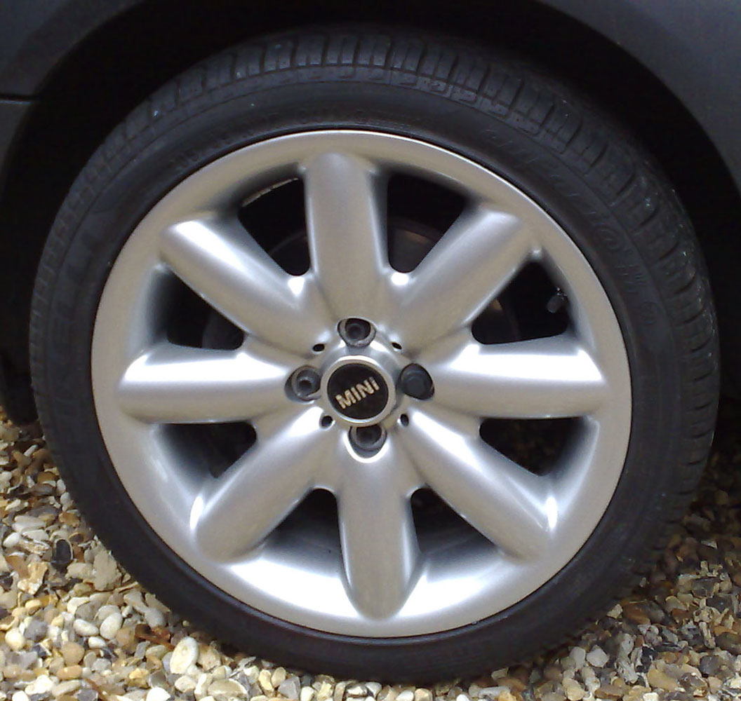 Mini Wheel - Post alloy wheel refurbishment