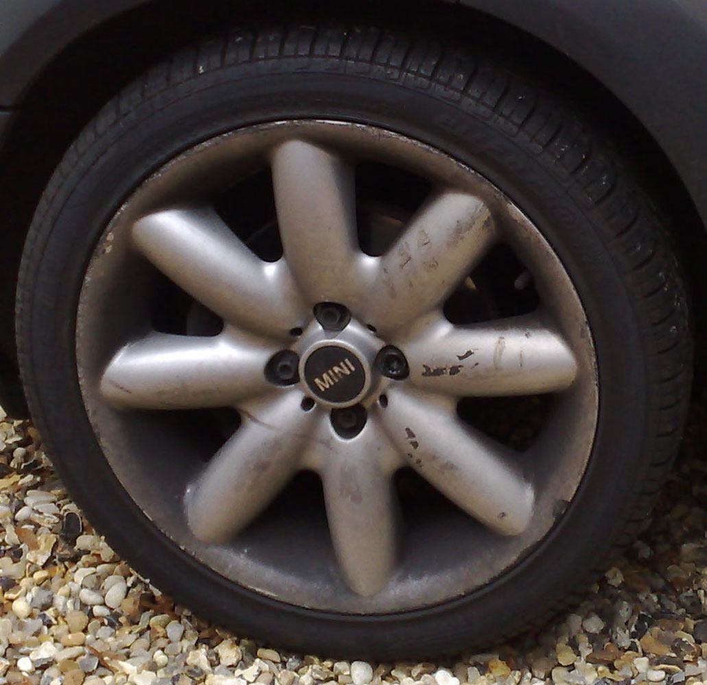 Mini Wheel - Pre alloy wheel refurb